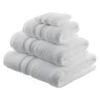 BATHROOM PACK WHITE TOWELS 450 GSM WHITE